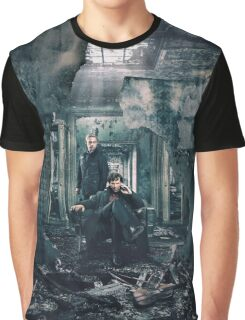 Sherlock and John - Season 4 Graphic T-Shirt