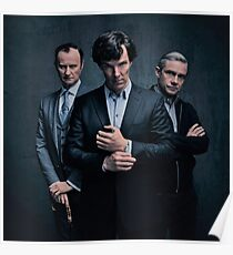 Sherlock, John and Mycroft - Season 4 Poster