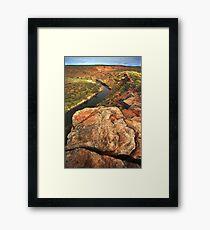 Murchison River, Western Australia Framed Print