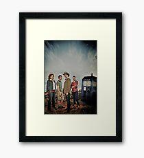 Doctor Who Cast - Season 6 Framed Print