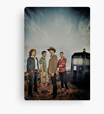 Doctor Who Cast - Season 6 Canvas Print