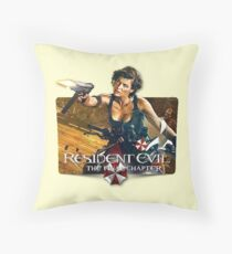 Resident Evil Final Chapters Throw Pillow