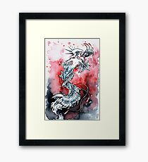 Mermaid Riot Framed Print