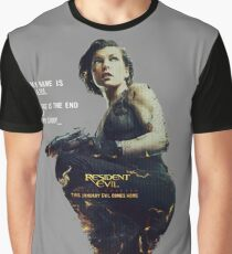 Resident Evil Alice Graphic T-Shirt