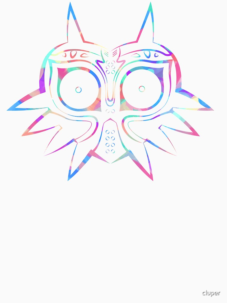Majora's Mask Lines Color 2 | Unisex T-Shirt