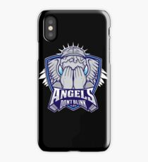 Angels- Don`t Blink iPhone Case/Skin