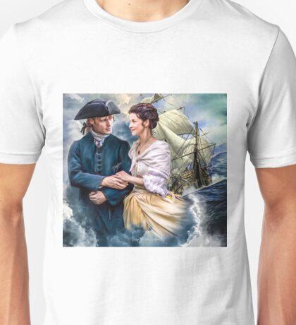 """""""Bon voyage pour les voyageurs"""" Unisex T-Shirt"""