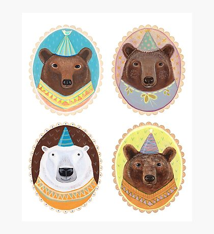 Four Bears Photographic Print