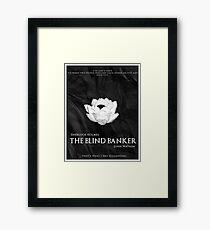BBC Sherlock - The Blind Banker Framed Print