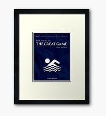 BBC Sherlock - The Great Game Framed Print