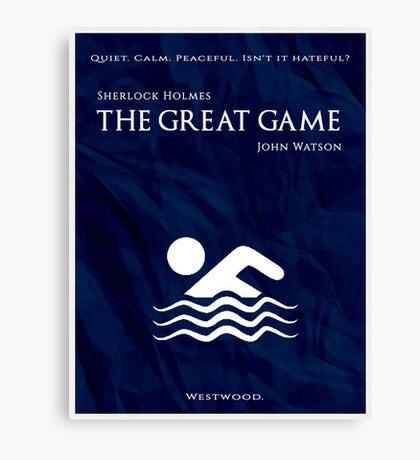 BBC Sherlock - The Great Game Canvas Print