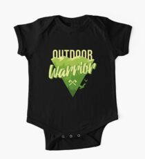 Outdoor Warrior - Camping T-shirt One Piece - Short Sleeve