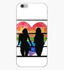 Sanvers Silhouette  iPhone Case
