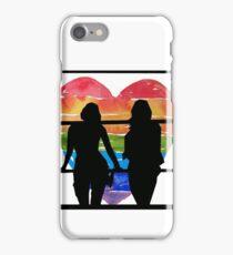 Sanvers Silhouette  iPhone Case/Skin