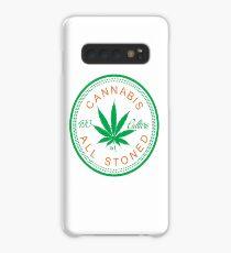 Cannabis Logorythm Case/Skin for Samsung Galaxy