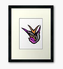 Pink swallow Logo Framed Print