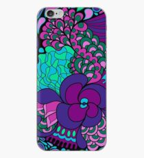 Psychedelisches Muster der Hippies 60s iPhone-Hülle & Cover