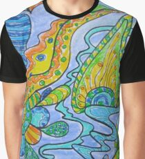 Abstract pastel art Graphic T-Shirt