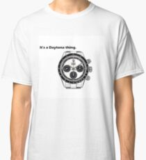 Rolex Daytona for Wristwatch Enthusiasts Classic T-Shirt