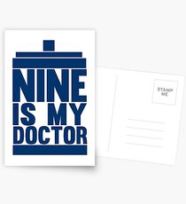 Is Nine your Doctor? Postcards