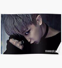 Wonho MonstaX Stuck Poster