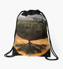 Road to the next level Drawstring Bag
