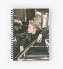 MonstaX Wonho Guilty Spiral Notebook