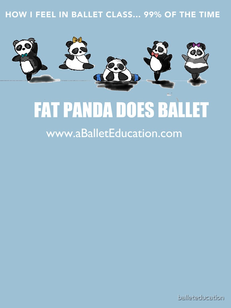 FAT PANDA DOES BALLET by balleteducation