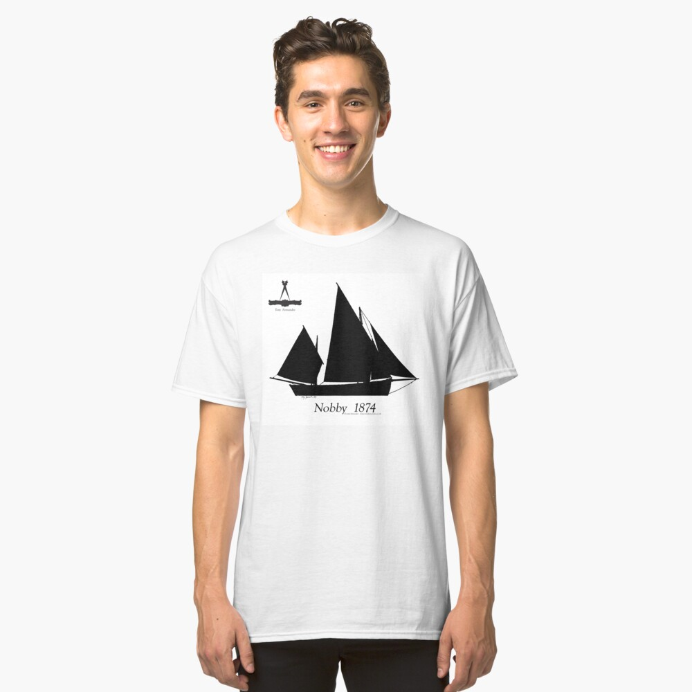 Nobby 1874 by Tony Fernandes Classic T-Shirt Front