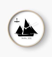Nobby 1874 by Tony Fernandes Clock