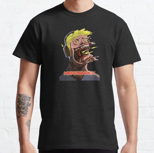 Headsnack Screaming Headphones Classic T-Shirt