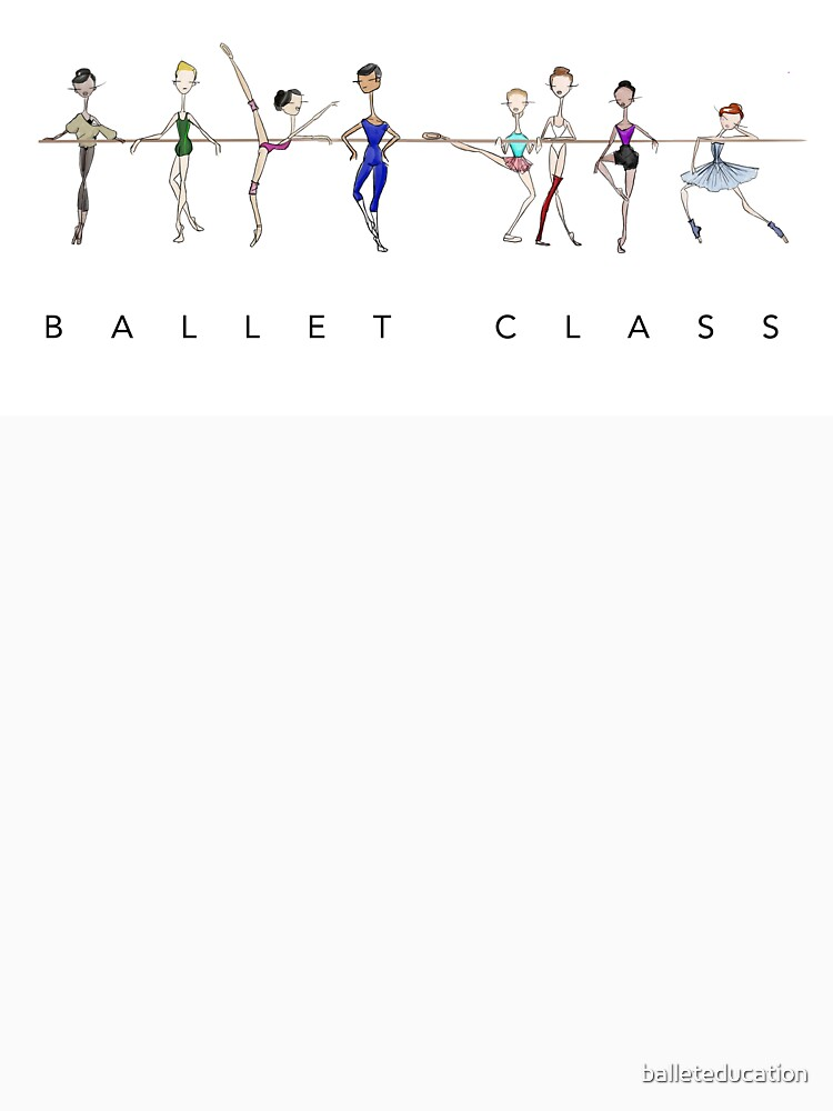 A Ballet Education's Ballet Class by balleteducation