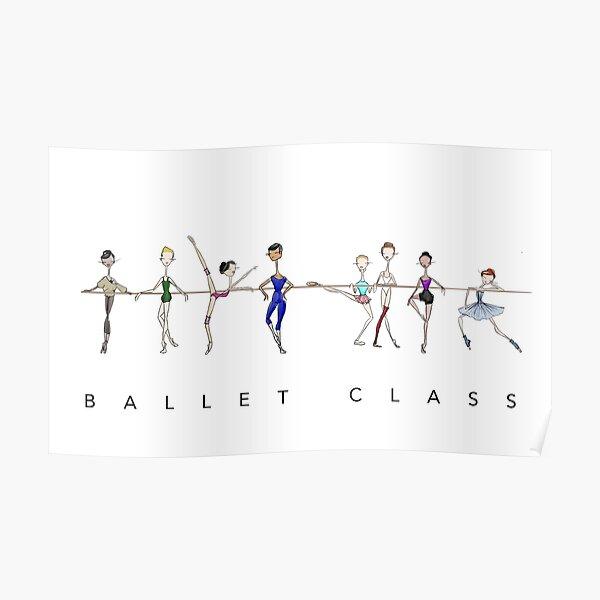 A Ballet Education's Ballet Class Poster