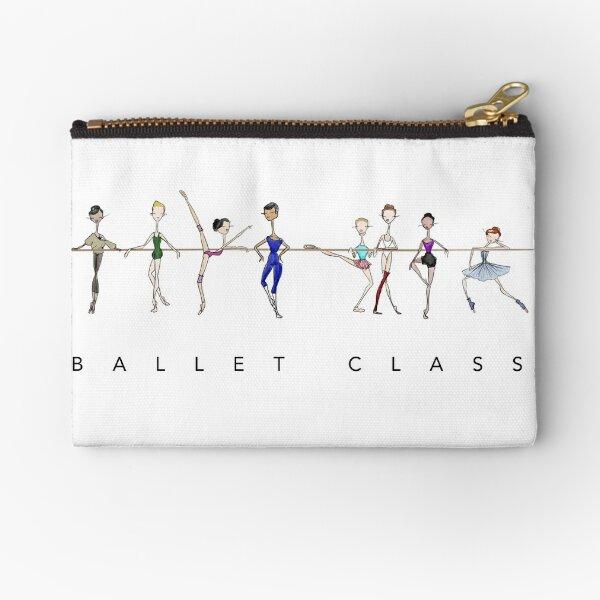 A Ballet Education's Ballet Class Zipper Pouch