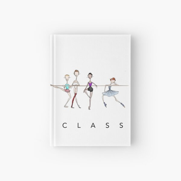 A Ballet Education's Ballet Class Hardcover Journal