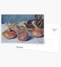 Alfred Sisley - Still Life With Onions Postcards