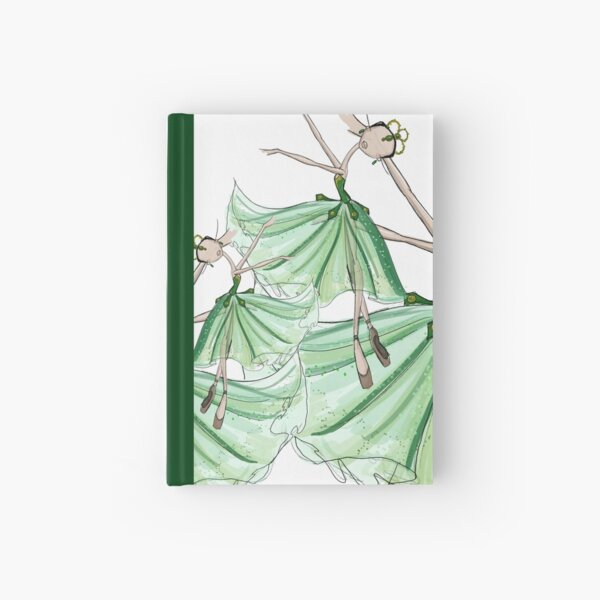 Emeralds Hardcover Journal