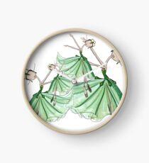 Smaragde Uhr
