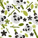 Panda pattern by Koaladesign