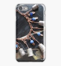 Thimbell Bells Necklace and Charm Bracelet iPhone Case/Skin
