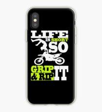 Motocross,- Dirt bike - Motocycle iPhone Case