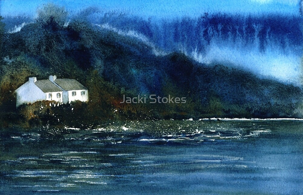 Lakeside Cottages by Jacki Stokes