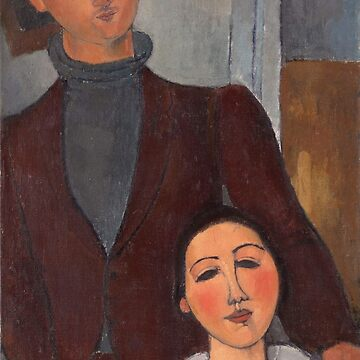 Amedeo Modigliani - Jacques And Berthe Lipchitz (1916) by artcenter
