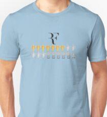 Roger Federer - 18 Grand Slams T-Shirt