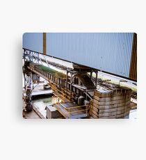 Port Machinery Canvas Print