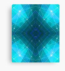 Blue Wire Canvas Print