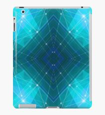 Blue Wire iPad Case/Skin