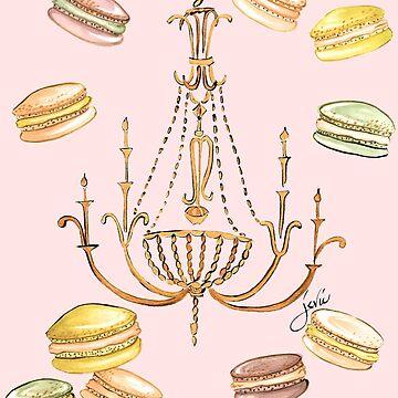 Macarons in Pastell von Jevie