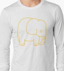 Cute Retro Elephants  Long Sleeve T-Shirt