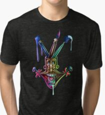 Manic artistic joy Tri-blend T-Shirt